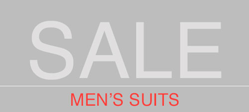 MEN'S FASHION SUITS SUPER DISCOUNTS
